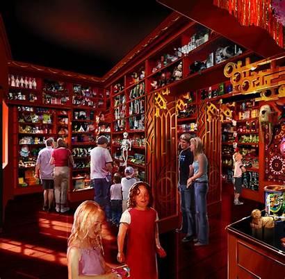 Zonko Joke Potter Harry Wizarding Concept Orlando