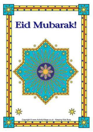 happy eid poster
