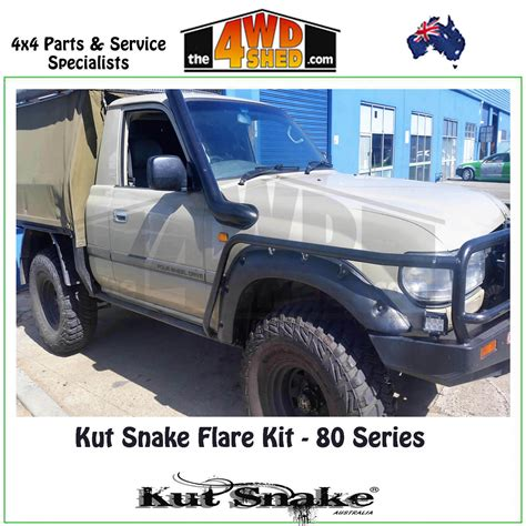 Kut Snake Standard Flare Kit - 80 Series Landcruiser UTE KIT