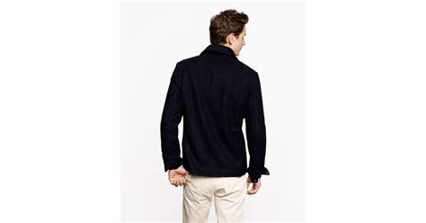 J.crew Wallace Barnes Skiff Jacket In Blue For Men