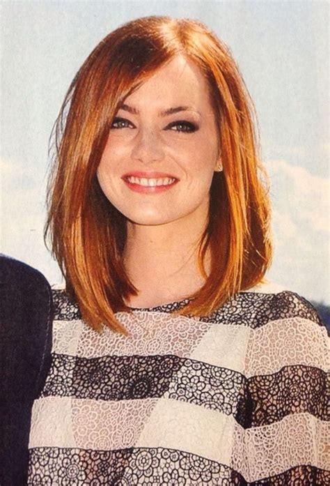 medium length haircut   face  hairstyle
