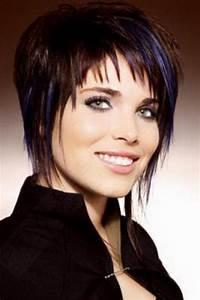 Coupe Courte Pour Visage Rond : modele de coiffure courte pour visage rond ~ Melissatoandfro.com Idées de Décoration