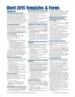 tip sheet template microsoft word 2013 templates forms reference guide sheet of tips