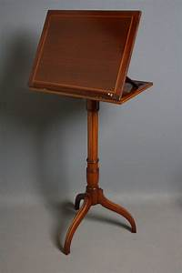 Edwardian, Music, Stand, In, Mahogany