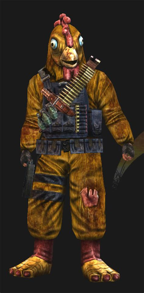 killing floor 2 commando killing floor commando chicken 3d features and moving mouth minecraft skin