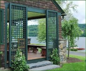 Decorative Ceiling Panels Home Depot by Vinyl Green Lattice Panels Traditional Outdoor