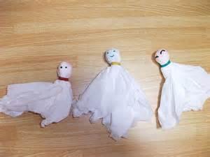 Preschool Halloween Crafts Ghosts