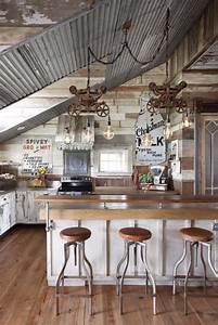 20, Pretty, Farmhouse, Kitchen, Decor, Ideas, For, Modern, Homes
