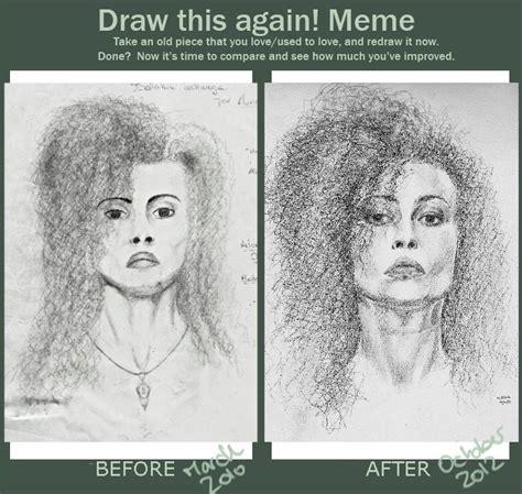 Draw This Again Meme Fail - draw this again meme bellatrix by auri3 on deviantart