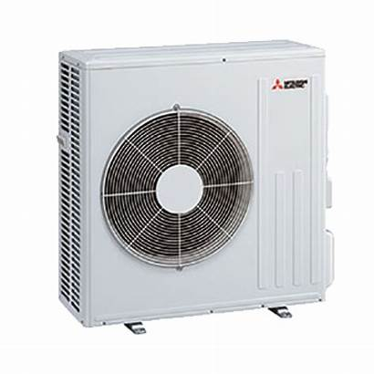 Mitsubishi Unit Condensing Heat Outdoor Ductless Ac