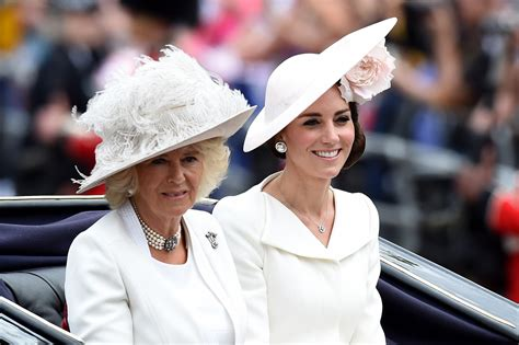 kate middleton  camilla parker bowles    war