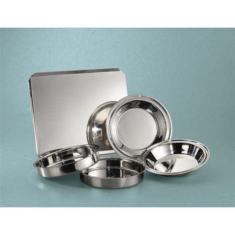 bakeware piece stainless steel rings