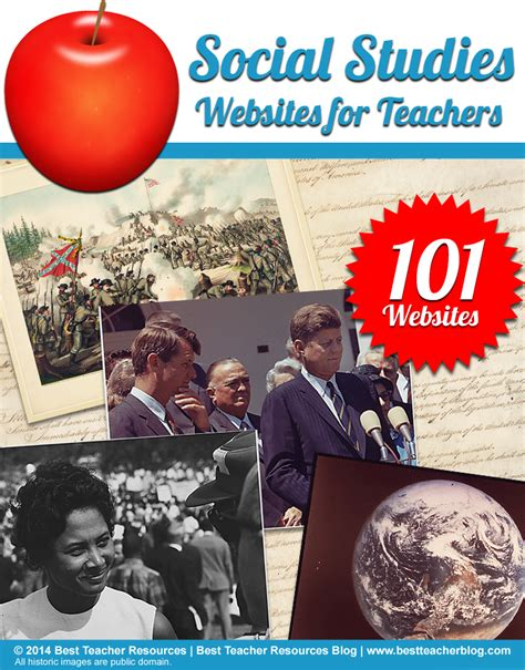 101 Social Studies Websites For Teachers  Us History, World History