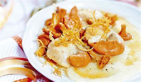 cuisiner des girolles recette noix de jacques au beurre de plemousse