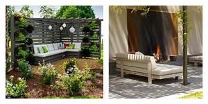 Salon Exterieur Palette : 50 id es originales pour fabriquer votre salon de jardin en palette ~ Teatrodelosmanantiales.com Idées de Décoration