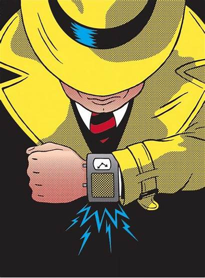 Dick Tracy Gizmos Gadgets Bottleneck Ridge Cartoon