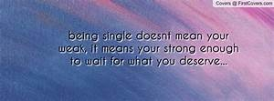 Being Single Qu... Facebook Single Quotes