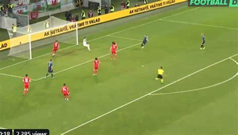 Chelsea's Ampadu block video Wales Slovakia