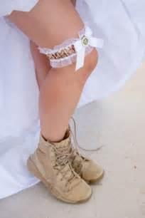 Military Army Wedding Garter