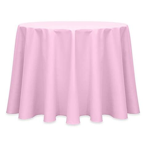 light pink table cloth buy 132 inch indoor outdoor twill tablecloth in