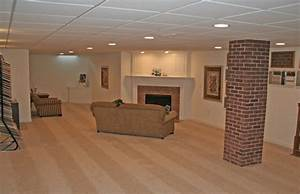 Basement finished ideas on a budget with low ceiling for Basement ceiling ideas on a budget