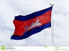 Cambodia Flag Stock Image Image 21369701