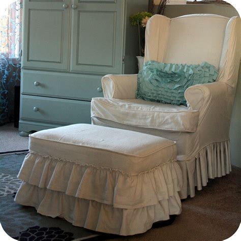 chair and ottoman covers wide selections of slipcover for ottoman homesfeed