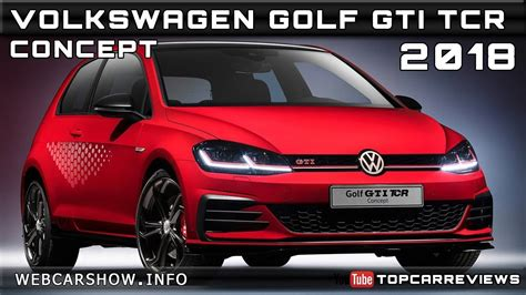 volkswagen golf gti tcr concept review rendered price