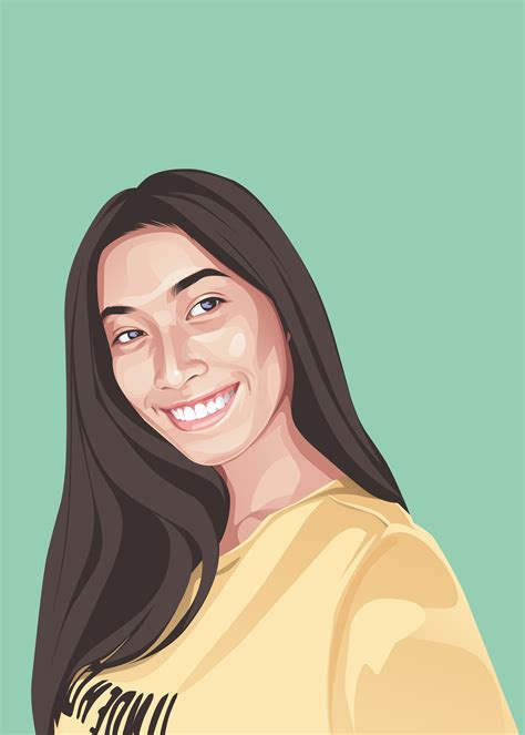 I Will Draw Cartoon Portrait From Your Photo For 10