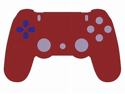 Controller Playstation Clip Ps4 Vector Newdesignfile Via