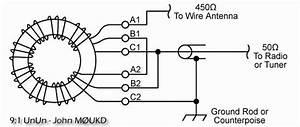 9 1 Magnetic Longwire Balun    Unun