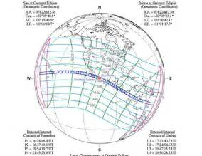 1991 Total Solar Eclipse Path