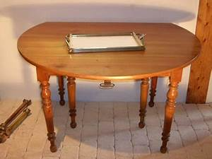 Le Bon Coin Table Ronde En Merisier Table De Lit