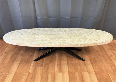 capiz shell surfboard coffee table  perfect