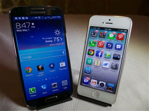 Samsung Galaxy S4 Vs Apple Iphone 5 Which Is Faster Better