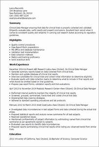 data management resume resume ideas With sample resume for clinical data management fresher