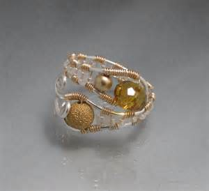 buy handmade wire wrapped copper adjustable ring try