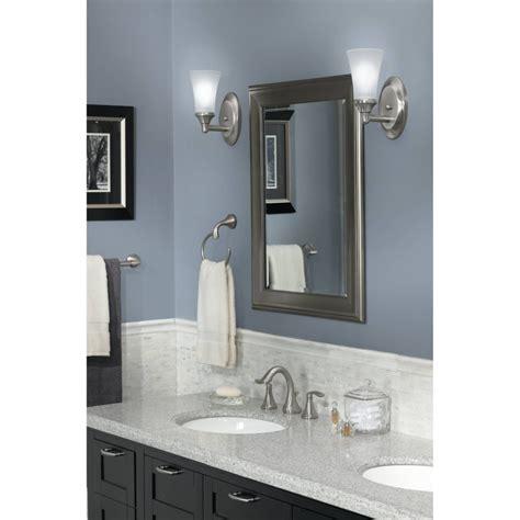 moen kitchen faucets moen yb2886bn brushed nickel towel rings bathroom