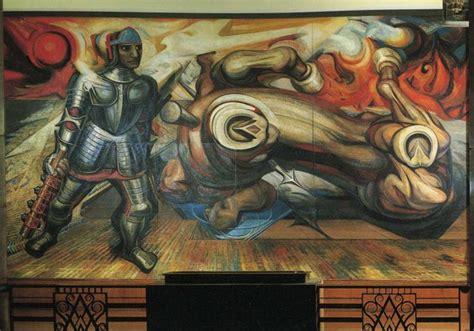 David Alfaro Siqueiros Murales Y Su Significado by La Resurrecci 243 N De Cuauht 233 Moc 1950 De David Alfaro
