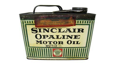 Sinclair Opaline Motor Oil Half Gallon Oil Can