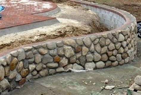 rock retaining wall cost cost of retaining wall stone decor references