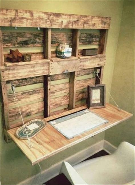 diy easy wooden pallet desk ideas pallet diy diy