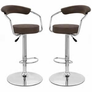 tabouret de bar marron x 2 retro coiffeur achat vente