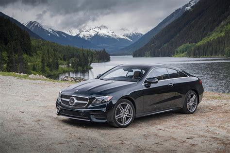 2018 Mercedesbenz E400 4matic Coupe First Test Review