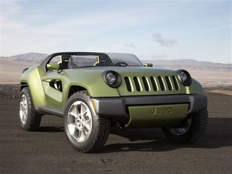 Future Jeep Vehicles by 2008 Jeep Renegade Concept Car Wallpaper Auto Trends