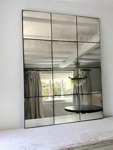 Miroir Rectangulaire Mural : grand miroir mural ~ Teatrodelosmanantiales.com Idées de Décoration