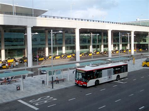 bus tofrom barcelona airport express bus airport aerobus