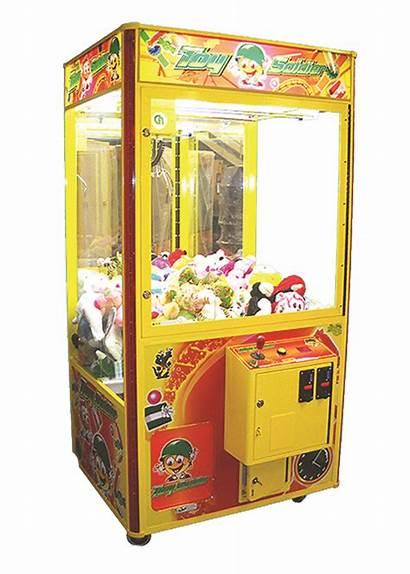 Toy Machine Crane Toys Play Marketing Showrrom