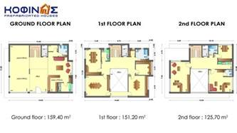 Story Building Plans Pictures by 3 Story Office Building With Attrium E 436 Total Space Of