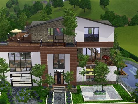 Sims 3  Haus Bauen  Let's Build  Viel Platz Für Familie